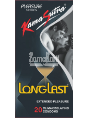 Kamasutra Longlast Condoms 20's Pack