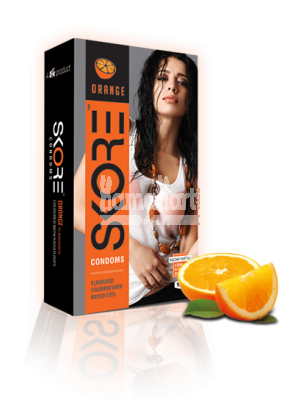 Skore Orange Condoms 10s