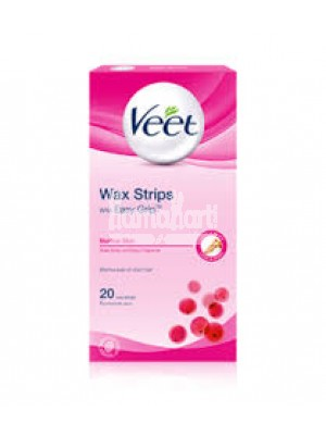 VEET WAX STRIPS (NORMAL SKIN)