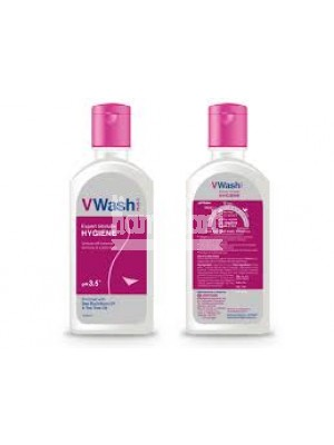 V Wash Plus - Intimate Vaginal Wash 200ml ( Pack of 2 )