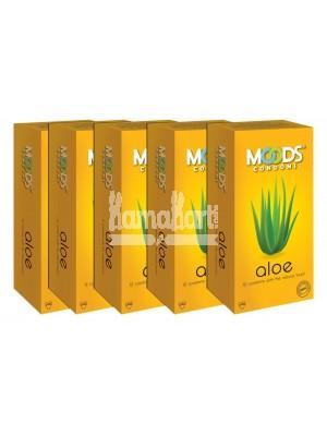 Moods Aloevera Condoms Combo
