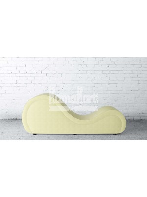 Basic Series Cream White LoveRollers Leatherette Fabric