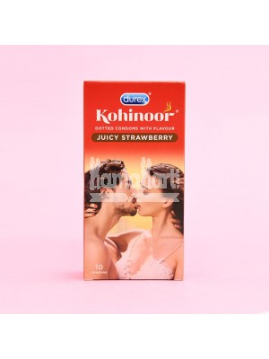 Durex Kohinoor Strawberry Condoms