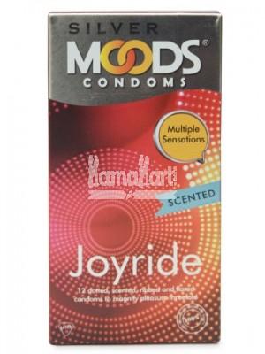 Moods Silver Joyride Condoms 12s
