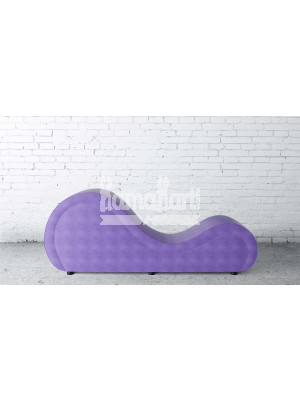 Basic Series Purple LoveRollers Leatherette Fabric