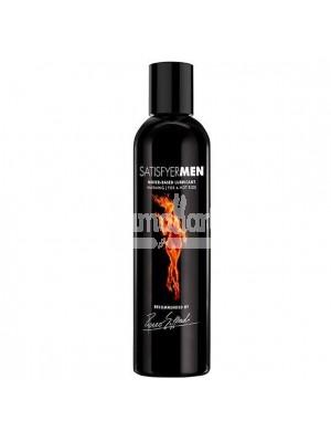Satisfyer - Men Water-Based Lubricant Warming 300ml (Black)