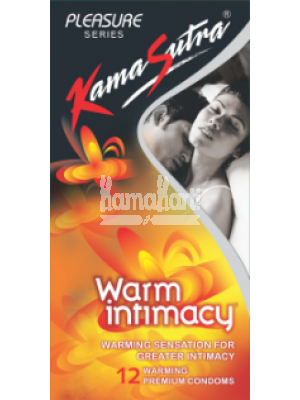 Kamasutra Warm Intimacy Condoms