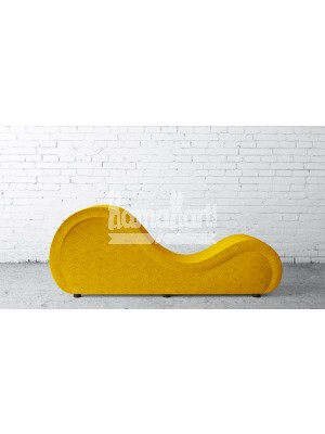 Premium Series LoveRollers – Yellow with Smooth and Soft Fabric