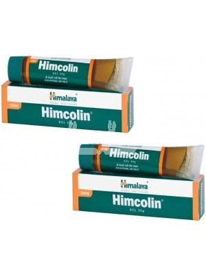 Himalaya Himcolin Gel Pack of 2