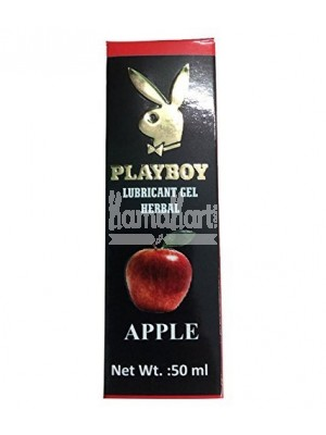 Playboy Flavoured Lubricant 50 ml - Apple Flavour