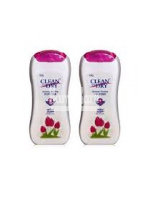 Clean and Dry Powder ( Pack of 2 )