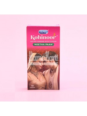 Durex Kohinoor Meetha Paan Condoms