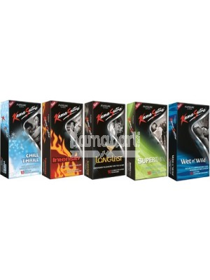 Kamasutra Pleasure Condoms Combo