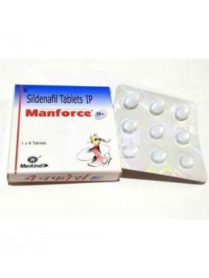 Manforce 50 mg ( 6 x 9 Tablets )