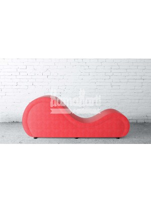 Basic Series Red LoveRollers Leatherette Fabric
