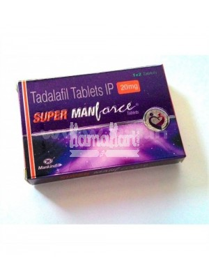 Super Manforce 20 mg ( 2 x 4 Tablets )