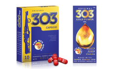Original 303 Capsules and Gold Power Oil Combo Pack