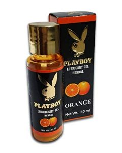 Playboy Flavoured Lubricant Gel 50 ml - Orange Flavour