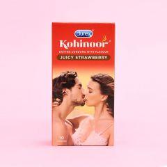 Durex Kohinoor Strawberry Condoms