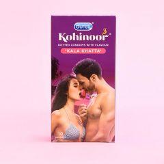 Durex Kohinoor Kala Khatta Condoms