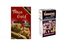 Jinga Gold Capsules & Kamasutram Oil Combo