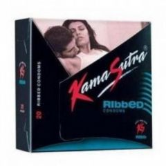 Kamasutra Ribbed Condoms 20's Pack