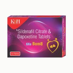 Koye 6xe Bomb Sildenafil Dapoxetine Tablets  - 20 Nos