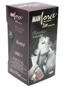 Manforce Chocolate Condoms 20s