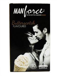 Manforce Butterscotch Flavored-10'S