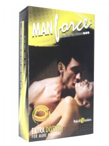 Manforce Banana Flavored Condoms