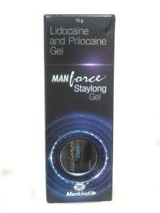 Manforce Stay Long Gel 10 gm X 3 pcs