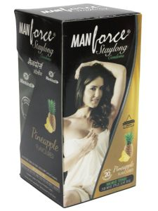 Manforce Staylong Pineapple Flavored Condoms–20'S