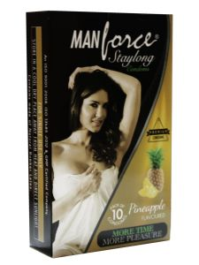Manforce Staylong Pineapple Flavored Condoms