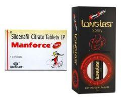 Manforce 100 mg & KS Delay Spray