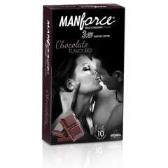 Manforce Chocolate Condoms 10s