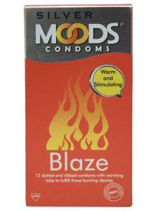 Moods Silver Blaze Condoms 12s