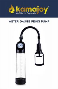 Kamajoy Meter Guage Penis Enlargement Pump