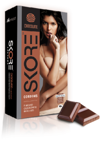 Skore Chocolate Condoms