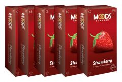 Moods Strawberry Condoms Combo