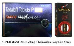 Super manforce 20 mg & KS Delay Spray